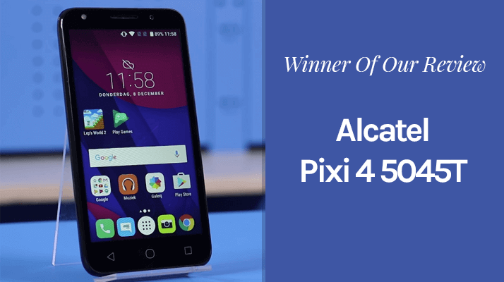 Alcatel Pixi 4 5045T android smartphone