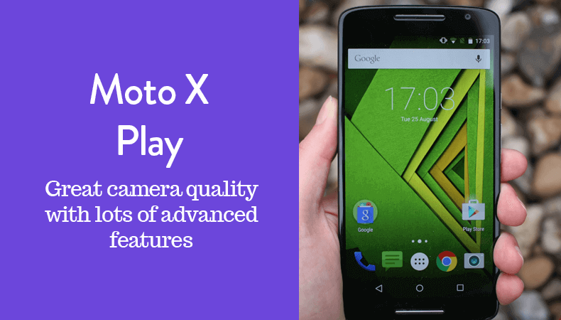 16gb internal storage moto x play