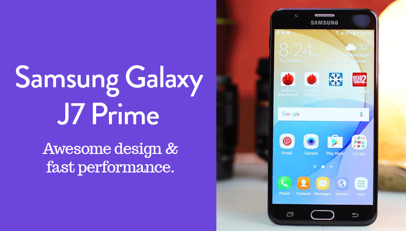 samsung galaxyj7 prime awesome design and fast performance