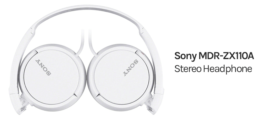 Sony MDR-ZX110 white color