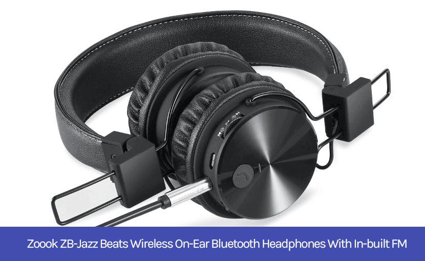Zoook ZB-Jazz Beats headphones with FM