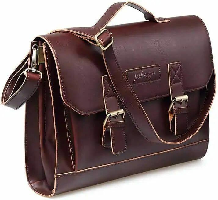 Jakago vintage laptop briefcase satchel