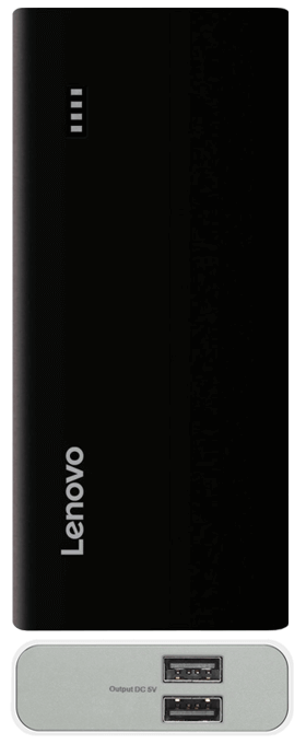 Lenovo PA10400 with two usb ports and black color
