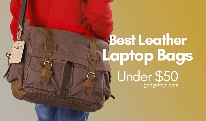 best leather laptop bags under $50