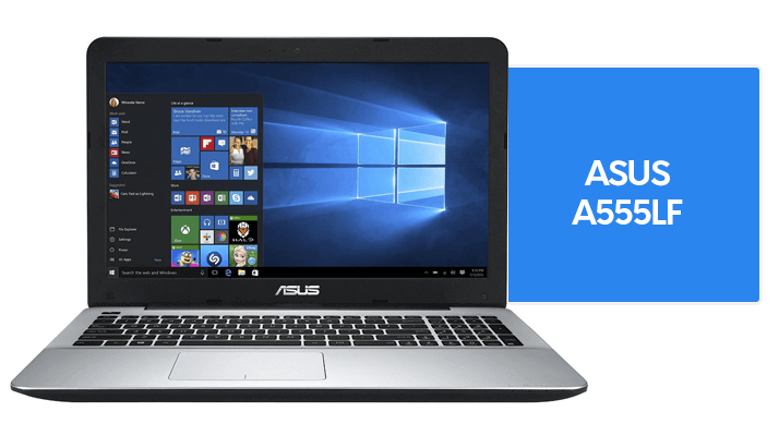 specifications of asus a555lf model
