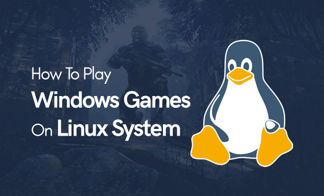 play windows games on linux distro