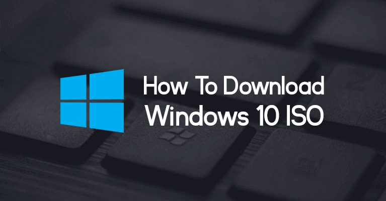 how to legally download Windows 10 ISO from Microsoft website