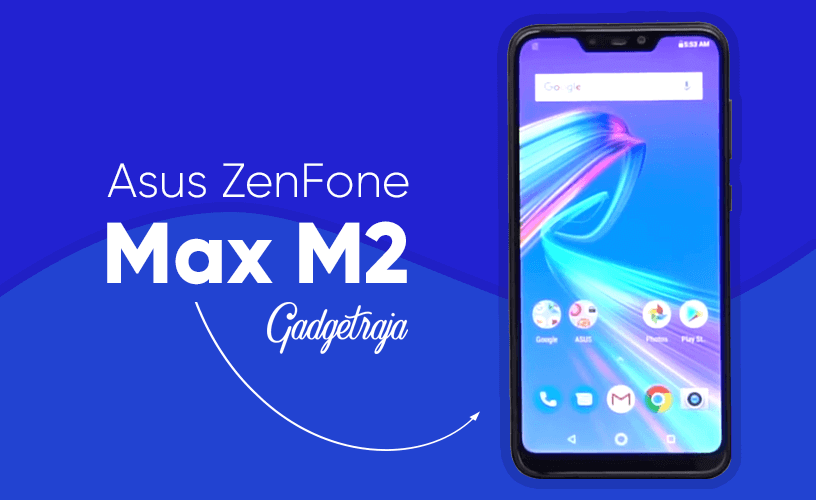 Image of Asus ZenFone Max M2 Android Smartphone 2018