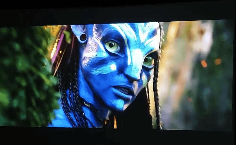 avatar on my projector