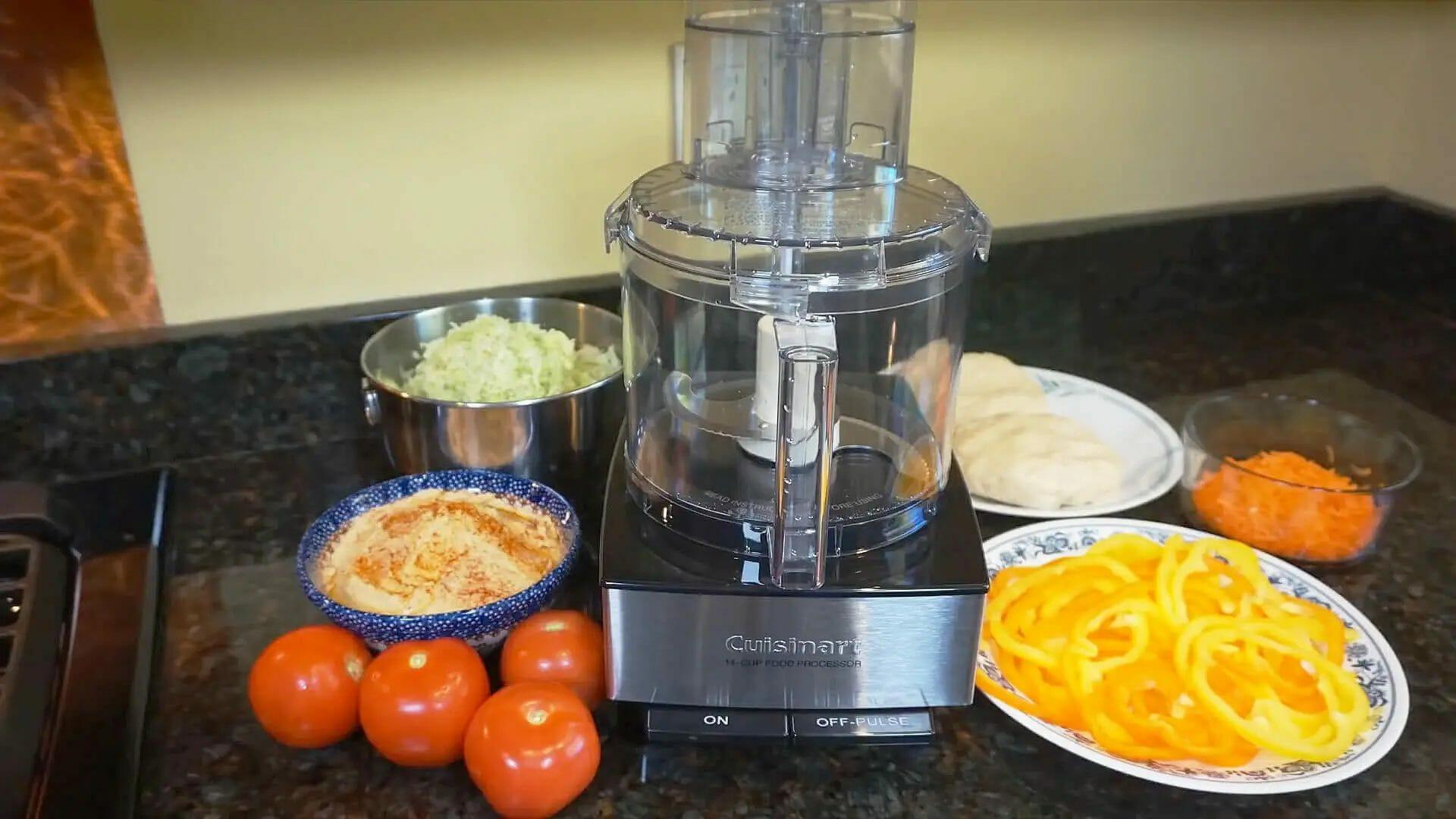 Review of Cuisinart DFP-14BCNY 14-Cup Food Processor